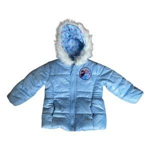 Disney Frozen II Winter Jacket (2T) Light Blue